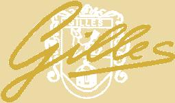 Gilles Logo gold mit Wappen